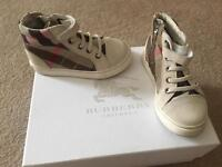 Burberry high tops size 6