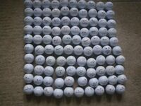 LOT of 100 GOLF BALLS. WHITE. SRIXON; CALLAWAY and WILSON STAFF. VERY GOOD CONDITION.