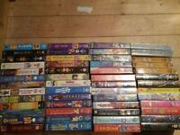 VHS films x 100