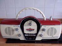 Retro radio/casette