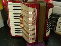 hohner 48 bass accordion lightweight model