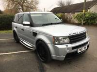 Land Rover Range Rover Sport 2007 07 HSE HST KIT FULLY LOADED FRIDGE H.K DVD SAT NAV
