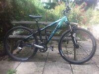 Trek 4500 wsd ladies MTB mountain bike bicycle