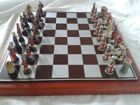 Crusades - Richard the Lionheart verses Saladin Chess Set