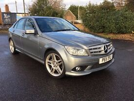 2011 MERCEDES C250 CDI ,GREY ,AUTOMATIC ,LOW MILEAGE ,FULL HISTORY