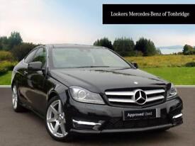 Mercedes-Benz C Class C220 CDI AMG SPORT EDITION PREMIUM PLUS (black) 2014-09-26