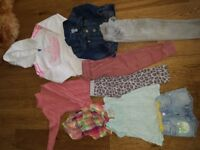 Bundle of girls clothes size 2-3 years
