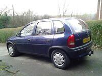 Vauxhall corsa b automatic low miles