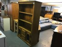 PINE BOOKCASE/DRESSER (DELIVERY AVAILABLE FOR SMALL FEE)