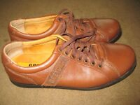 Two Pairs of Leather Shoes both Size 8.5 - £8.00 each or both pairs for £15.00