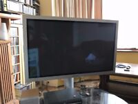 Samsung 43 Inch Plasma TV/Monitor with stand and mounting bracket