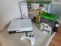 Xbox one s 1tb console and 5 games
