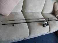 PIKE ROD AND BAIT RUNNER REEL