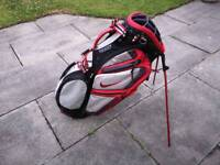 Nike Golf Performance Carry lightweight Stand Golf Bag - Excellent Condition