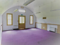 Office premises at Crownhill Fort, 460 sq ft, fully refurbished