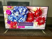 40 LG 4k Ultra HD Smart Freeview HD LED TV