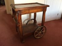 Tea trolley, reproduction style.