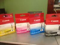 Canon Ink X 4 + FREE PRINTER