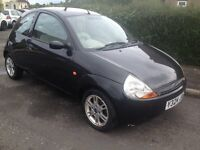 FORD KA LUXURY 1300 FULL LEATHER TRIM ONLY 76000 MILES, SPARES OR REPAIR. BRISTOL