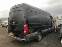 Volkswagen crafter van parts available rear axel prop shaft rear springs wheel seats stearing rack