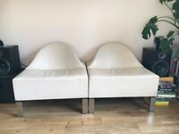 Two Piece Retro Sofa