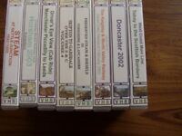 "8 VHS set - ""Dave's Railway Videos"""