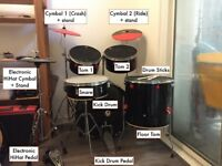 Converted Electronic drum kit + Alesis IO Trigger or Roland TD10 module