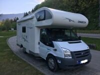 Ford Chausson Flash 2010, 6 seats & 6 berth. Set up for wild camping and European adventures