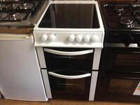 White ceramic electric cooker