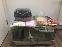 Large Hamster, Rat, Rodent Cage With Accessories - Marchioro (Very good quality brand)