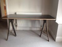 Quality, smart, functional desk. Modern design. Used, in good condition.