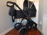 Jane MUUM Baby Travel System - complete with ISOFIX base for KOOS car seat