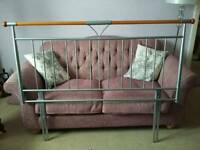 Headboard double 4ft 6 inch REDUCED