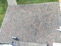 Patio paving brickwork 20sq/m
