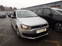 VOLKSWAGEN POLO 1.2 60 S 5dr [AC] (silver) 2013