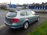 2013 PASSAT HIGHLINE TDI BLUE TECH 2 FORMERSONLY £30 ROAD TAX SOME SERVICE H...