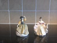 Royal Doulton figurines.