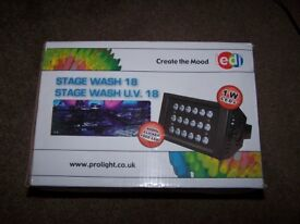 DJ DISCO HIGH POWER LED UV LIGTHS ON STAND