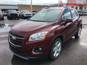 2014 Chevrolet Trax LTZ 1.4L Turbo FWD Bluetooth Backup Cam Remo