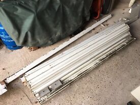 White Roller Shutter Garage Door