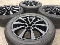 "Genuine 17"" Lexus IS220d IS250d Alloy wheels Honda/Renault/Toyota Rav"