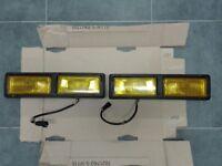 Ford fiesta genuine xr2i rs turbo yellow fog lights