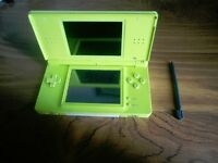 Green Nintendo DS Lite