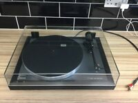 Linn axis audiophile turntable with linn basik plus arm and linn k9 cartridge but no stylus