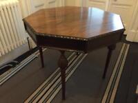 Octagonal table