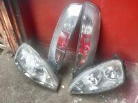 cosra headlights and taillights