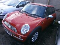 2004 MINI HATCH 1.6 COOPER 3DOOR, SERVICE HISTORY, HPI CLEAR, DRIVES VERY NICE, CLEAN CAR