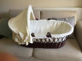 Moses basket wicker