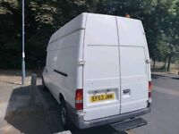 **FORD TRANSIT VAN** 2004 2.4 DIESEL HIGH ROOF LOADS OF SPACE 1 MONTHS MOT ENGINE AND GEARBOX FINE!