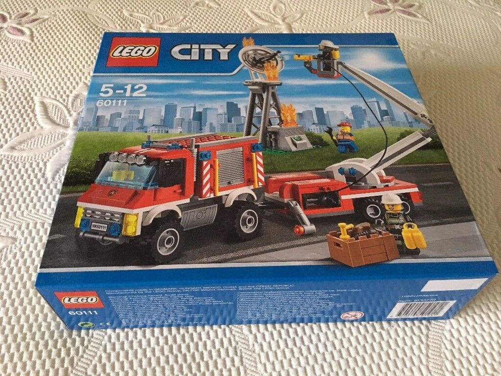 LEGO 60111 City Fire Utility Truck Set (New) - Collect Only